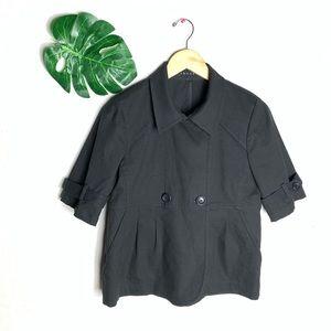 Theory Black Jacket Size 10